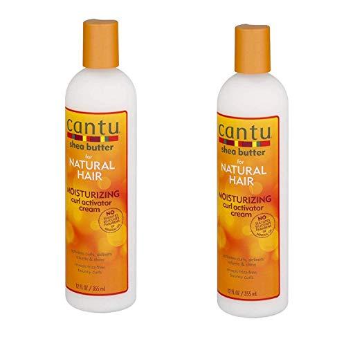 Manteca de karité hidratante crema activadora de bucle 355 ml – 2 paquetes