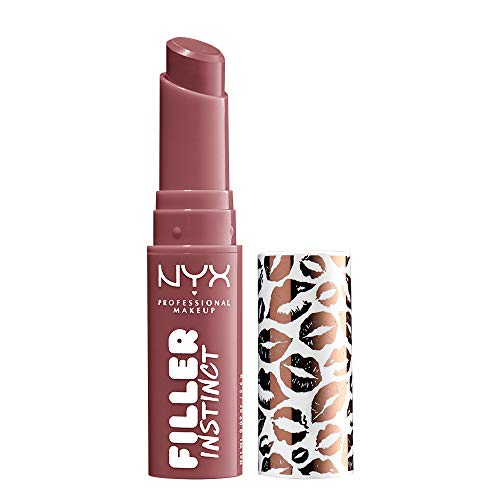 NYX PROFESSIONAL MAKEUP Filler Instinct Plumping Lip Color, Lip Balm - Sugar Pie (Mauve Pink Purple)