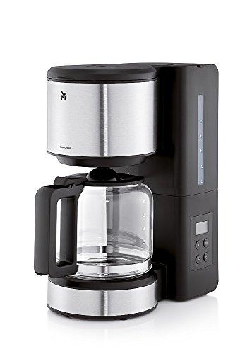 WMF Stelio Aroma Digital Filterkaffee, mit Glaskanne, Filterkaffee, 10 Tassen, Timer-Funktion, Tropfstopp, Warmhalteplatte, Abschaltautomatik, 1000 W