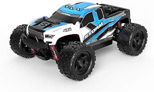 Paelf Control remoto de 2.4GHz Coche de juguete para niños 1: 18 Control de cuatro ruedas Control remoto Coche Off-Road Truck 50km / h Games al aire libre de alta velocidad Vehículo Child RC Cars Bigf