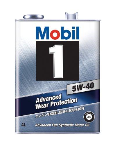Mobil エンジンオイル モービル1 5W-40 SN 4L [HTRC3]