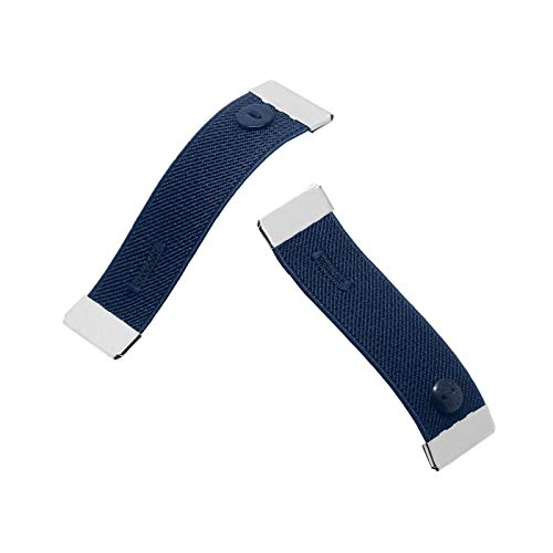 Nato Cuff - Stoppen Sie das gerollte Langarmhemd - Ziehen Sie es elegant hoch - Elastische rutschfeste Hemdmanschettenhalter (Jonathan)