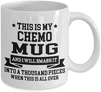 This Is My Chemo Mug With Wood Gift Box Chemotherapy Treatment Coffee Tea Cups Cancer Themed product image