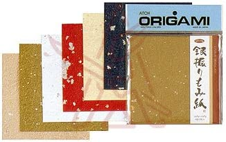 Aitoh Origami Ginburi Momigami Washi online shopping Squares Industry No. 1 X 6 Paper inch