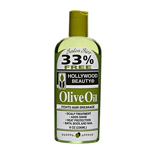 Hollywood Beauty Olive Oil, Green , 8 Ounce