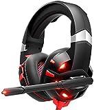 XXT Auriculares para juegos 7.1 Surround Stereo PS4 Auriculares...