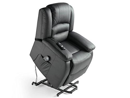 ECO-DE - Sillon masaje elevador ECO-DE® Maximum Negro