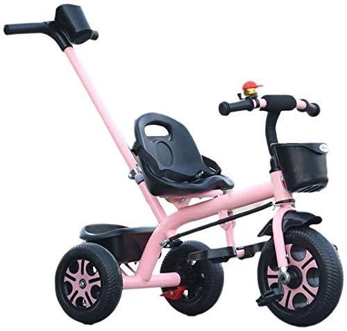 Nuevo triciclo triciclo para niños cochecitos de bebé, triciclos para niños, cochecitos, coches de juguete para niños, bicicletas para bebés, triciclo para bebés de 2-3-6 años, silla de empuje para ni