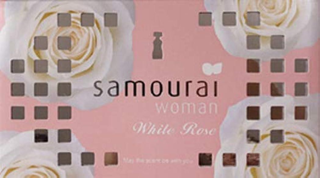 頑張る年齢ランチSamourai woman(サムライウーマン) サムライウーマン ホワイトローズ フレグランス ボックス ホワイトローズの香り 170g