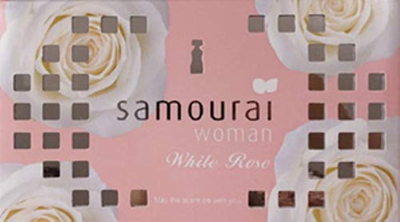 保証ずるい寄託Samourai woman(サムライウーマン) サムライウーマン ホワイトローズ フレグランス ボックス ホワイトローズの香り 170g