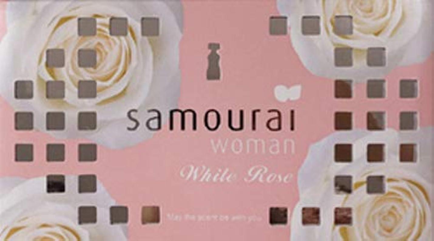 解決する彼服を洗うSamourai woman(サムライウーマン) サムライウーマン ホワイトローズ フレグランス ボックス ホワイトローズの香り 170g