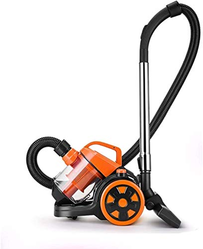 Mopoq Cylinder Vacuums Vacuum Cleaner Home Powerful high Power Small Wet and Dry Handheld Mini Carpet Vacuum Cleaner Power Supply 1220w Orange Best Vacuum Cleaner
