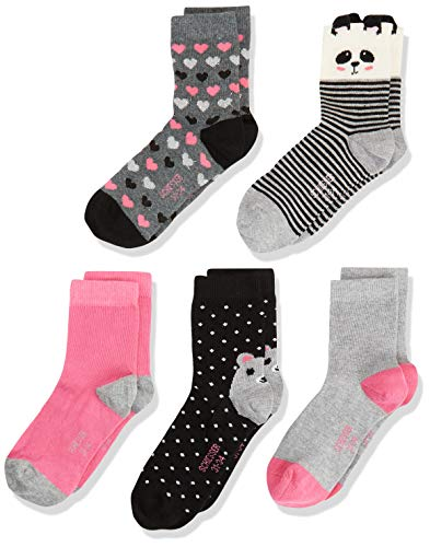 Schiesser Mädchen Socken - 5er Pack, Sortiert 4, 27-30
