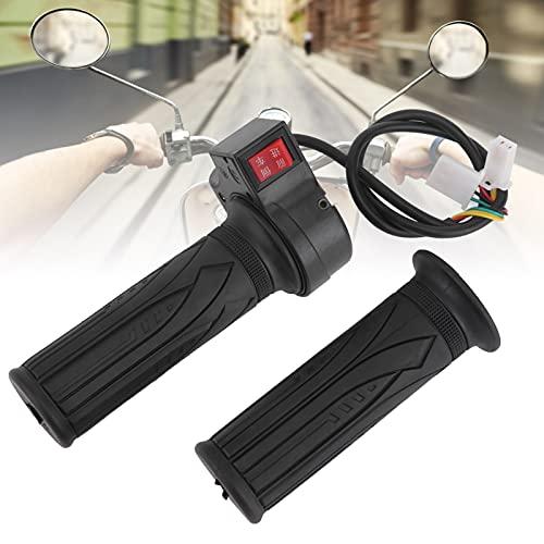 Fishawk Puños de Bicicleta de Interruptor, puño Giratorio de Acelerador portátil Duradero para Scooters para triciclos eléctricos para Bicicletas eléctricas