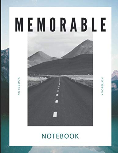 Memorable Notebook: Lined Journal Notebook for Writing Notes