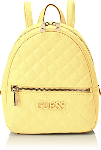 Guess Elliana Backpack, Zaino Donna - Giallo (Yellow) - 22x29x10.5 cm (W x H x L)