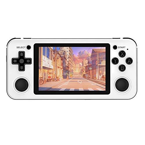 KENANLAN Retro-Spielkonsole, offenes Dual-System, Handheld-Gerät, 3,5-Zoll-Retro-Konsole IPS-Bildschirm Tragbare Handheld-Spielekonsole PSP Spiele Videospiel-Player für Spaß zu Hause