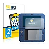 BROTECT Protector Pantalla Compatible con Nintendo New 3DS XL Protector Transparente (2 Unidades) Anti-Huellas
