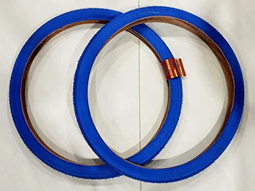 MZ PARTS MIAMI 26 X 2.125 (57-559) Two Street Design Tires (Blue)