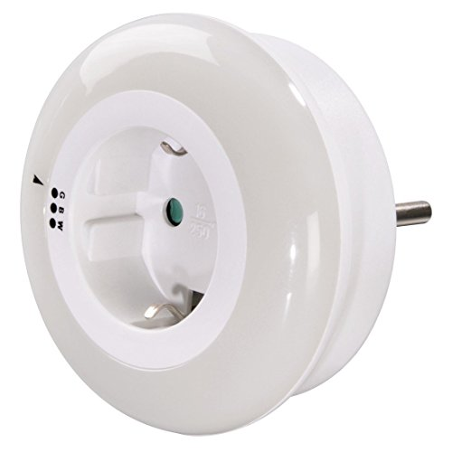 Smart Light Led-nachtlampje met geïntegreerd stopcontact, 0,5 W