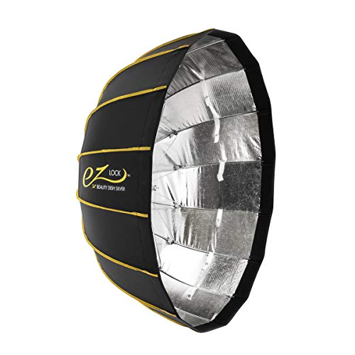 """Glow EZ Lock Collapsible Silver Beauty Dish (34"""")"""