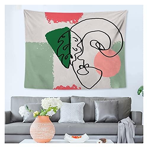 Tapiz Mandala Tapicería Creativa Abstracta brujería tapicería Colgando Boho Decor Deco Chambre Fille Wall Tapices Decoración de Arte (Color : Transparent, tamaño : 35x40cm)