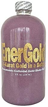 EnerGold® World s ONLY Pure-Gold-Based ORMUS Deep-Purple Manna  Monoatomic-Colloidal Gold  >1000 ppm