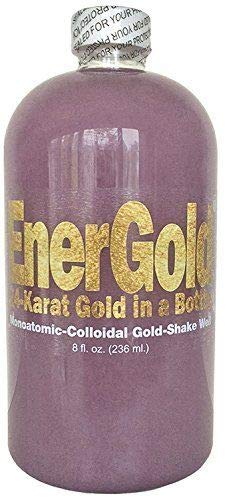 EnerGold® World's ONLY Pure-Gold-Based ORMUS Deep-Purple Manna Monoatomic-Colloidal Gold (>1000 ppm)