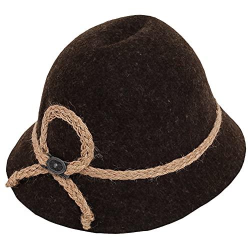 Isar-Trachten Hut für Kinder - Braun Gr. 49