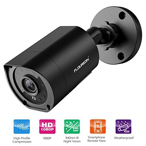 Anlapus 1080P Sistema de Seguridad 8 Canales Grabador DVR con 4 CCTV C/ámaras de Vigilancia Exterior 100ft Visi/ón Nocturna sin Disco Duro