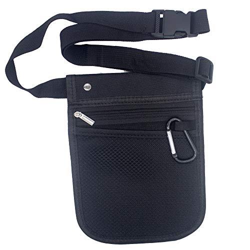 Medical Organizer Nurse Tool Belt 25 Inch – 47 Inch Waist Bag Vet Tech tool belt Multi Compartment Pocket Nurse Fanny Pack for Utility Kit Holding - Black