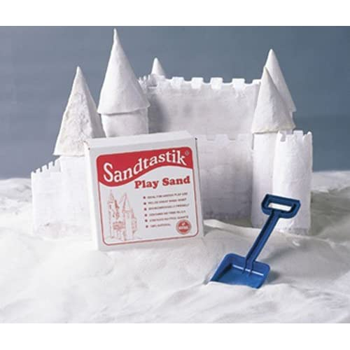 Sandtastik Sparkling White Play Sand, 25 Pounds