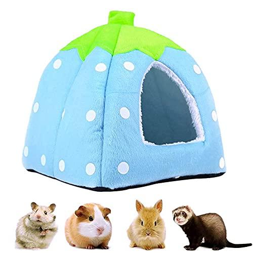 Cama Pequeña para Mascotas Chinchilla, Nido de Hámster, Cama de Casa para Animales Pequeños, Cama de Conejo, Nido para Mascotas Pequeñas, para Hámster Ardilla Chinchilla