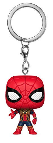 Funko Pocket Pop Keychain Iron Spider Bobble-Head 27302 Avengers Infinity War