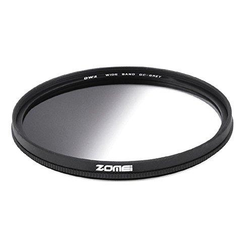 ZOMEI GND-Filter für Canon Nikon DSLR-Kamera, 67 mm, Kunstharz, rund, Grau