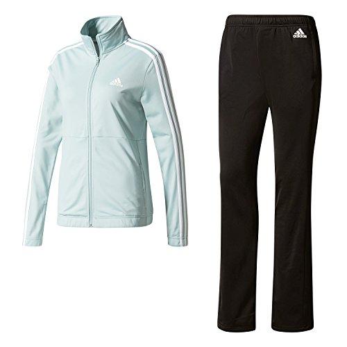 adidas Back2bas 3s Ts Chándal, Mujer, Multicolor (Vertac/Blanco/Negro), XS/S