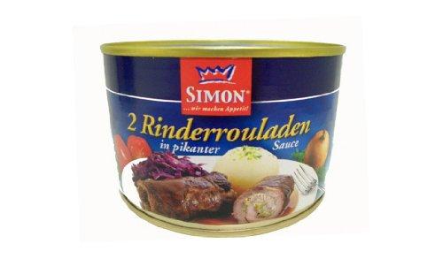 Simon 2 Rinderrouladen in pikanter Sauce 400g