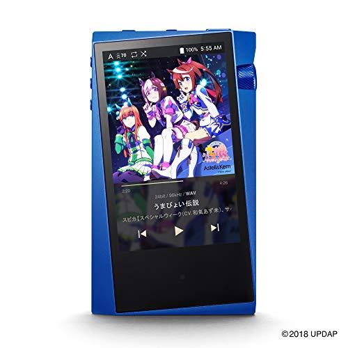 Astell&Kern A&norma SR15 ウマ娘 プリティーダービー Special Edition [Spica Blue][プリイン10曲内蔵] バランス接続&ハイレゾ対応高音質ポータブルオーディオプレーヤー