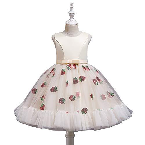 JTSYUXN Tüll Blumenmädchen Kleid Mädchen Kleider Partei Kleider Kinder Prinzessin...