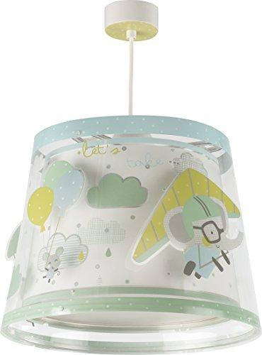 LED Kinderlampe Fahrzeuge Flugzeug Fahrrad littel trip 81782 Farbwechsel RGB-CCT 550 Lumen Bluetooth Mädchen & Jungen Kinderzimmerlampe Deckenlampe