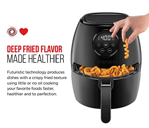 Chefman Air Fryer Reviews - Chefman TurboFry 3.6 Quart Air Fryer Oven