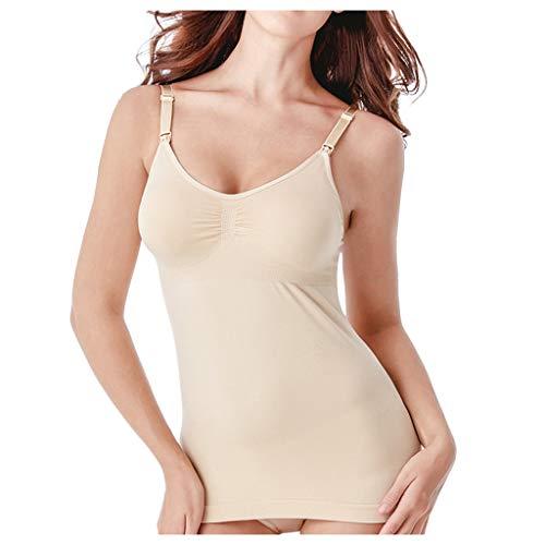 Routinfly Corsé para mujer, sujetador lencería de tirantes, parte superior de protección de la cintura, cinturón para el pecho, camiseta 3 en 1, ropa interior suave, sujetador push up