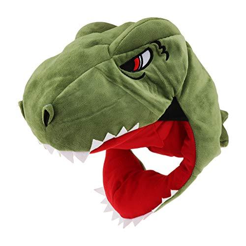 Générique Sharplace Chapeau Déguisement Masque Dinosaure Animal Moelleux pour Les Enfants et Les Adultes