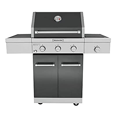KitchenAid 720-0953A Full-Size Propane Gas Grill, Slate