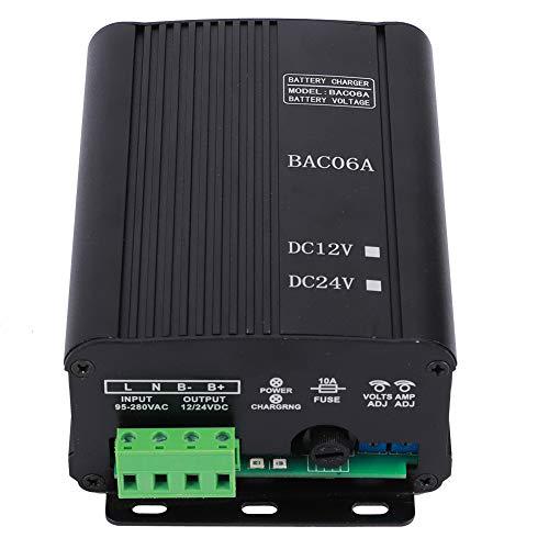 Cargador de batería de larga duración, cargador de grupo electrógeno diésel, hierro BAC06A ‑ 24V BAC06A ‑ 12V para 12V 24V(12V)