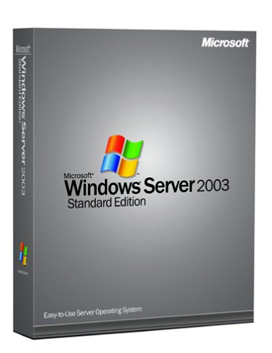 Microsoft Windows Svr Std 2003 English CD 5 Clt - Sistemas operativos (intel pentium IV, Windows Server 2003)