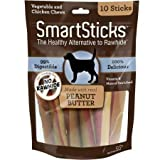 Smartsticks Rawhide Free Dog Chew, Made With Real Chicken, Vegetables And Peanut Butter - SBPB-00237