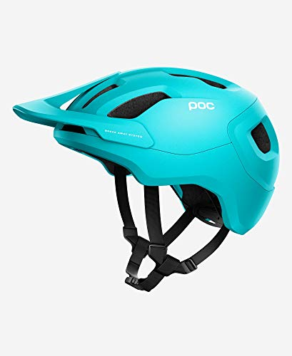 POC Unisex-Adult Axion Spin Helm, Kalkopyrit Blue Matt, X-Large