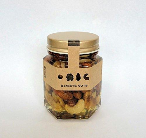 はちみつナッツ140g 国産蜂蜜にナッツを漬け込みました [並行輸入品]