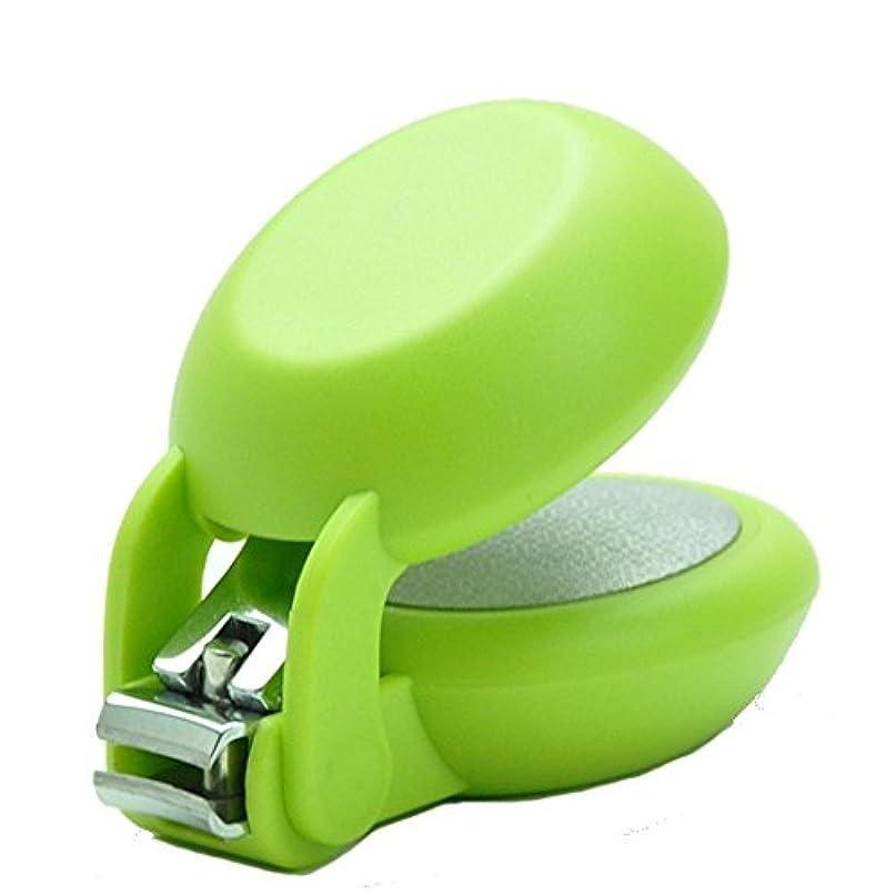 反対した問題家族爪切り nail clipper (ネイルクリッパー) Nail+ (ネイルプラス) Green (グリーン)